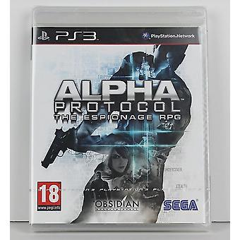 Alpha Protokol PS3 Playstation 3 hra