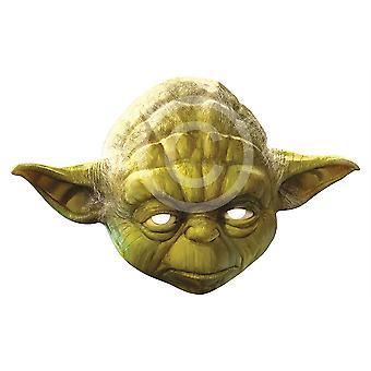 Yoda Card Face Mask