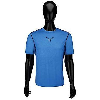 Bauer core hybrid top senior Blau Shortsleeve