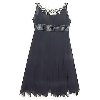 RONALD JOYCE Dress 97887 Black With White