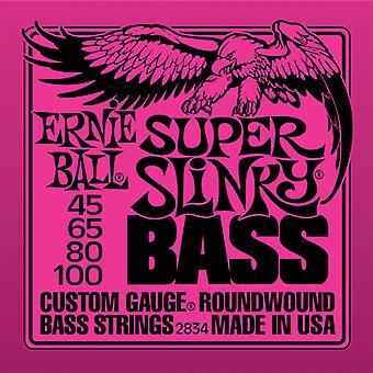 Ernie Ball Slinky Bass Strings - Gauge-Super Slinky 45-100