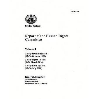 Report of the Human Rights Committee - Ninety-Seventh Session (12-30 O