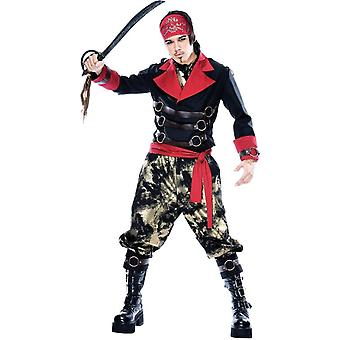 Evil Pirate Adult Costume