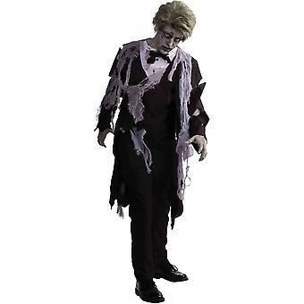 Zombie smokki aikuisten puku