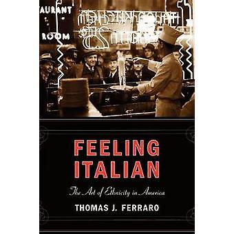 感じイタリアン フェラーロ ・ トマス j. によってアメリカの民族性の芸術