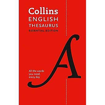 Collins Engelse essentiële synoniemenlijst: Alle woorden u dagelijks nodig hebt,