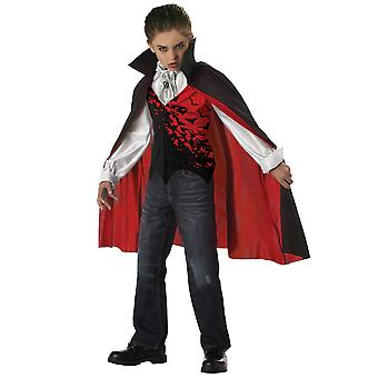 Prince Of Darkness Vampire Dracula Count Boys Costume