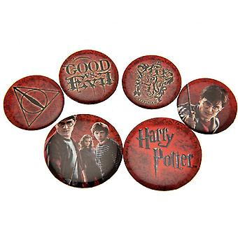 Harry Potter Red Button Insigna Set