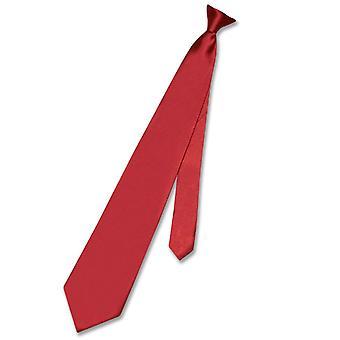 Biagio CLIP-ON NeckTie Solid Men's Neck Tie