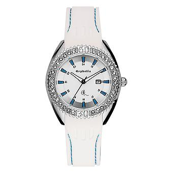 ORPHELIA Ladies Analogue Watch Playful White Silicone 122-1711-51