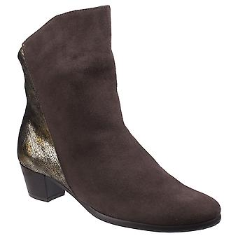 Riva Womens Anita Ankle Boot Brown