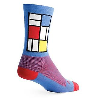 Chaussettes - SockGuy - Équipage 6'quot; Windows L/XL Cycling/Running