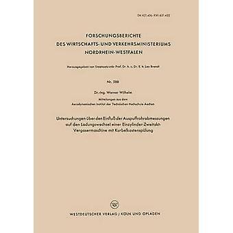 Untersuchungen ber den Einflu der Auspuffrohrabmessungen auf den Ladungswechsel einer EinzylinderZweitaktVergasermaschine mit Kurbelkastensplung des Wilhelm et Werner