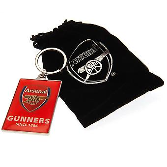 Arsenal FC Deluxe keyring