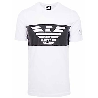 Ea7 White Logo T-Shirt