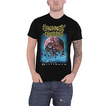 Malevolent Creation T Shirt Stillborn Band Logo Metal new Official Mens Black