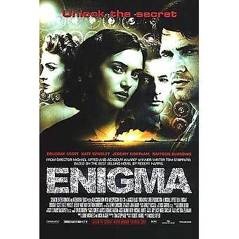Enigma (enkelzijdig Regular) originele Cinema poster