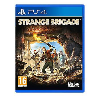 Strange Brigade PS4 Game (Classificação GCAM - Caixa inglesa/árabe)