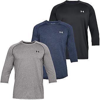 Under Armour Uomo UA Tech Power Sleeve T T
