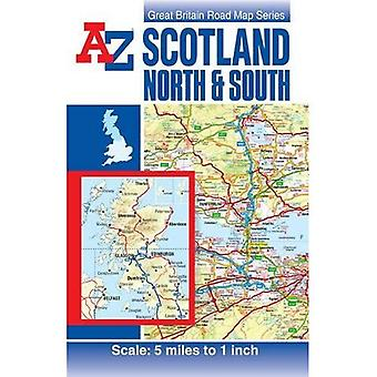 Scotland Road Map (A-Z Road Maps & Atlases) [Folded Map]