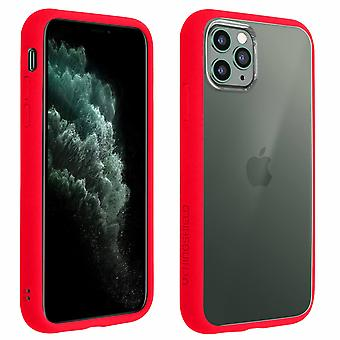 Apple iPhone 11 Pro Max Case, Changable Bumper + Rear, Red, Rhinoshield
