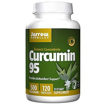 Curcumina 95, 500 mg (120 gorras vegetarianas) - Fórmulas Jarrow