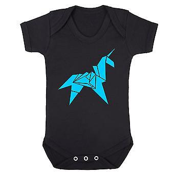 Origami unicorn babygrow