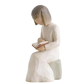 Willow Tree Wisdom Hand Painted Figurine