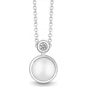 QUINN - Collana - Argento - Diamante - Pietra lunare - Wess. (H) - 2719199