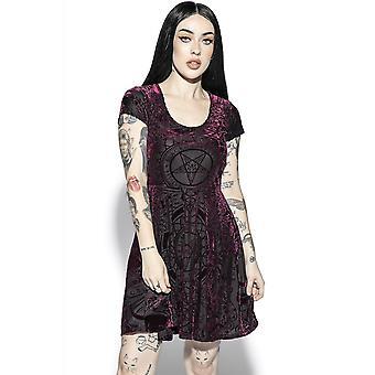 Blackcraft Cult Baroque Velvet Dress