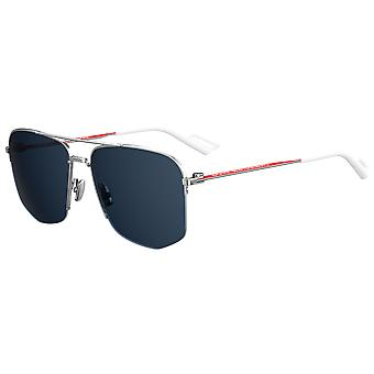 Dior Homme Dior 180 KWX/KU Palladium-Rot/Blau Sonnenbrille