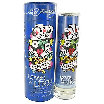 Love & Luck Eau De Toilette Spray By Christian Audigier   454563 100 ml