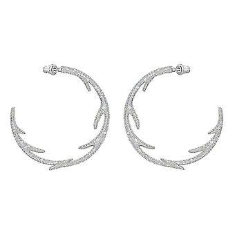 Swarovski Ohrringe 5499626 - Metall Silber Polar Bestiary Frauen