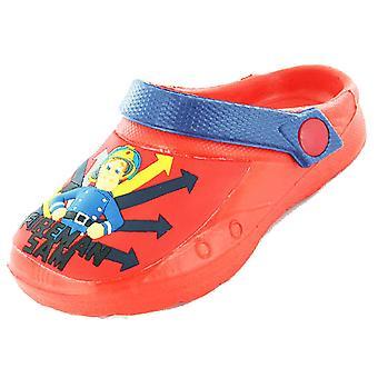 Poikien Kids palomies Sam sarjakuva merkki Casual Sea Beach tukkii kenkä 61978