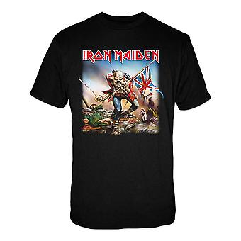 Iron Maiden the Trooper Heavy Power Metal T-Shirt Oficial
