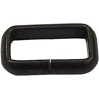 Prostokąt Niespawane metalowe pierścienie pętli - Projekt 4