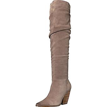 Charles by Charles David Womens Noelle Leather Closed Toe Over Knee Fashion B...