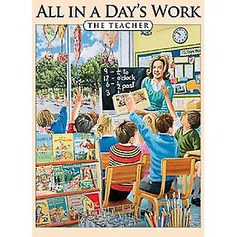 All In A Day's Work - O ímã de geladeira professor (og)