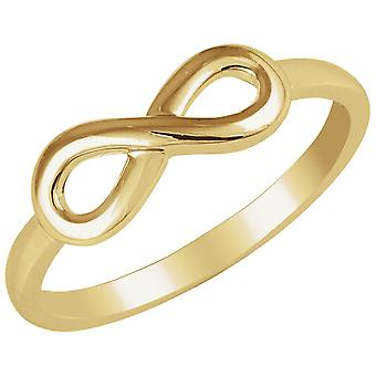 14k Yellow Gold Infinity Ring  Size 6.5 Jewelry Gifts for Women - 2.2 Grams