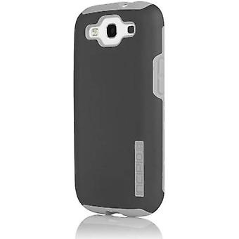 Incipio DualPro Case for Samsung Galaxy S3 - Dark Gray/Light Gray