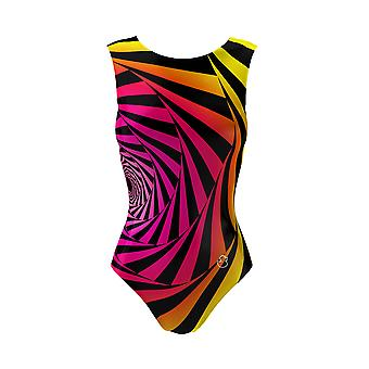 Multiverse Girls Gymnastics Leotard And a Short, Ballet Dance Costume Outfit, 3-16Y Sizes