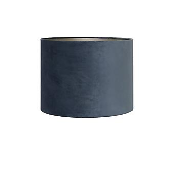 Light & obývacia valec odtieň 50x50x38cm velours Dusty Blue