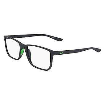 Nike 7034 003 Matte Anthracite-Rage Green Glasses