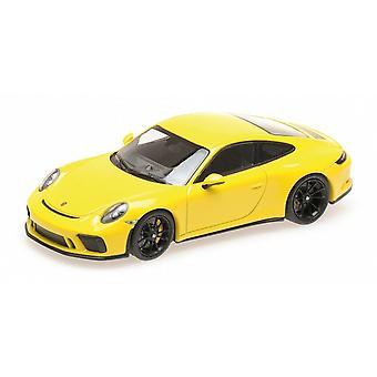 Minichamps 1:43 2018 Porsche 911 GT3 Farmari - keltainen
