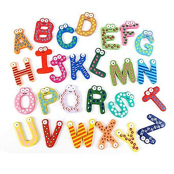 Cute Wooden Letters For Wall Decoration Letters And Numbers - Fun Play And Learning - Magnetic Alphabet