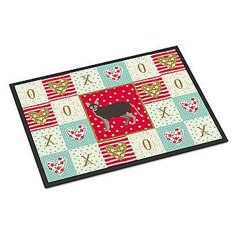 Carolines Treasures  CK5639JMAT Lykoi #1 Cat Love Indoor or Outdoor Mat 24x36