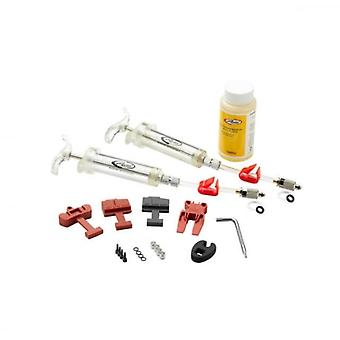 SRAM Spares Disc Brakes - Pro Brake Bleed Kit (includes 2 Syringes/fittings Bleed Blocks Torx Tool Crow's Foot Bleeding Edge Fitting Dot 5.1hydraulic Fluid) - X0/ Xx/ Guide/level/hydror