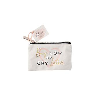 Blush Buy Now or Cry Later Purse
