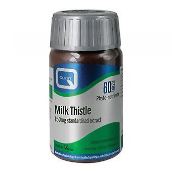 Quest Vitamins Milk Thistle Extract 150mg Tabs 60 (604036)