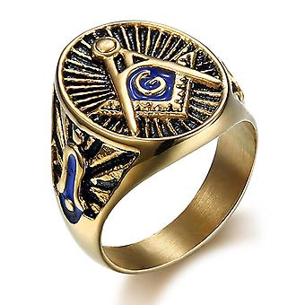 Signet masonic ring